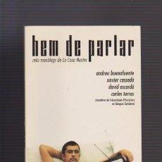 Libros de segunda mano: HEM DE PARLAR - MONÓLEGS DE LA COSA NOSTRA - EDITORIAL COLUMNA 2001. Lote 52976104