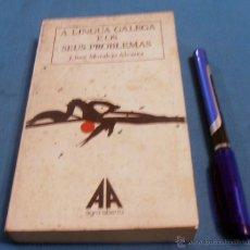 Libros de segunda mano: A LINGUA GALEGA E OS SEUS PROBLEMAS, J. JOSE MORALEJO ALVAREZ. Lote 53019936