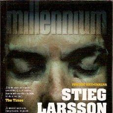 Libros de segunda mano: MILLENNIUM STIEG LARSSON. Lote 53495674