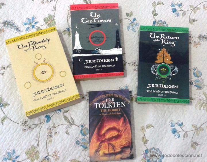 J.R.R. TOLKIEN: THE LORD OF THE RINGS I-II-III. THE HOBBIT (PACK) HARPER COLLINS (Libros de Segunda Mano - Otros Idiomas)