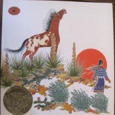 Libros de segunda mano: THE GIRL WHO LOVED WILD HORSES, PAUL GOBLE. Lote 53804188