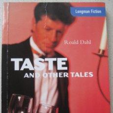 Libros de segunda mano - TASTE AND OTHER TALES, ROALD DAHL - 53804212