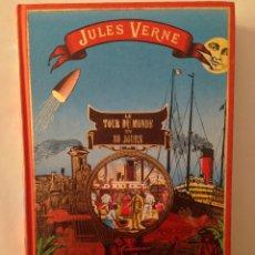 Libros de segunda mano: LE TOUR DU MONDE EN 80 JOURS - JULES VERNE - VOYAGES EXTRAORDINAIRES - 1990. Lote 53848348