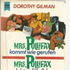 Libros de segunda mano: MRS. PULLIFAX. DOROTHY GILMAN. MÜNCHEN. ALEMANIA. 1988. Lote 54022284