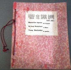 Libros de segunda mano: MANCIU-CUO VIGOROSO, NEI FOTOGRAFI.DIE JUNGE MAMDSCHUREI IN BILDERN. YOUNG MAMCHOUKUO PICTURES Y OLÉ. Lote 54675981