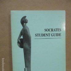 Libros de segunda mano: GUÍA DE ESTUDIANTE DE SOCRATES (EN ITALIANO - INGLÉS). Lote 55461593