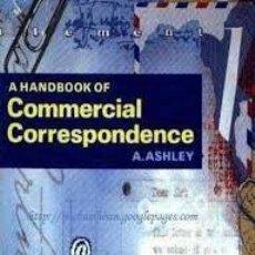 Libros de segunda mano: COMMERCIAL CORRESPONDENCE A. ASHLEY. Lote 55778113