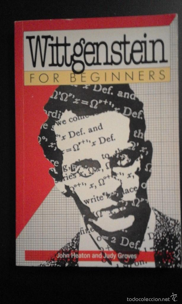.1 LIBRO ** LUDWIG WITTGENSTEIN** AÑO 1994 JOHN HEATON (AUTHOR) JUDY GROVES (ILLUSTRATOR) 175 P UK. (Libros de Segunda Mano - Otros Idiomas)