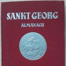 Libros de segunda mano: SANKT GEORG ALMANACH 1951 - LIBRO DE HIPICA ANTIGUO POR FRANZ RUDOLF BISSINGER - IDIOMA ALEMAN. Lote 56009756