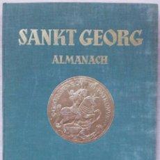 Libros de segunda mano: SANKT GEORG ALMANACH 1953 (PARADE DER REITEREI) - LIBRO DE HIPICA ANTIGUO - IDIOMA ALEMAN. Lote 56009932