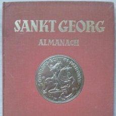 Libros de segunda mano: SANKT GEORG ALMANACH 1954 (50 ANIVERSARIOI) - LIBRO DE HIPICA ANTIGUO - IDIOMA ALEMAN. Lote 56010084