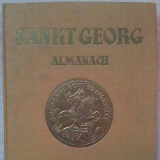Libros de segunda mano: SANKT GEORG ALMANACH 1959 - LIBRO DE HIPICA ANTIGUO - IDIOMA ALEMAN. Lote 56010182