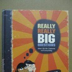 Libros de segunda mano: REALLY REALLY BIG QUESTIONS (INGLÉS) TAPA DURA, DE STEPHEN LAW (AUTOR), NISHANT CHOKSI (ILUSTRADOR). Lote 56143512