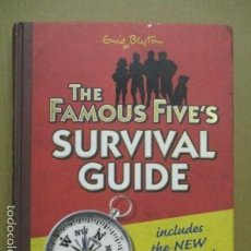 Libros de segunda mano: THE FAMOUS FIVE'S SURVIVAL GUIDE: INCLUDES THE NEW UNSOLVED MYSTERY (EN INGLÉS) COMO NUEVO. Lote 56144271