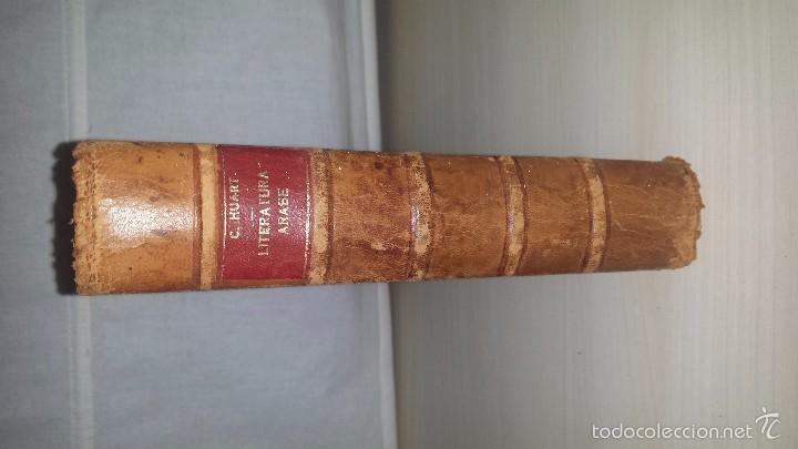 Libros de segunda mano: Literatura Árabe (1947) Clement Huart - Foto 3 - 56218611