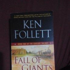 Libros de segunda mano: FALL OF GIANTS - KEN FOLLET (INGLES). Lote 56248776