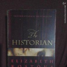Libros de segunda mano: THE HISTORIAN - ELISABETH KOSTOVA (INGLES). Lote 56250186