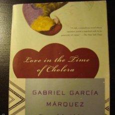 Libros de segunda mano: LOVE IN THE TIME OF CHOLERA. GABRIEL GARCÍA MÁRQUEZ.. Lote 80562894