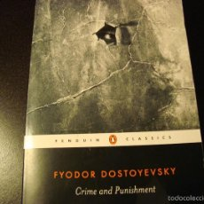 Libros de segunda mano: FYODOR DOSTOYEVSKY, CRIME AND PUNISHMENT. Lote 56264028