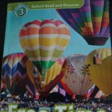 Libros de segunda mano: FREE TIME AROUND THE WORLD. DISCOVER 3. OXFORD.. Lote 56478755