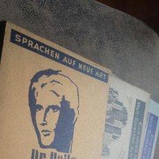 Libros de segunda mano: CURSO DE ESPAÑOL PARA ALEMANES- COMPLETO 1951. Lote 56611487