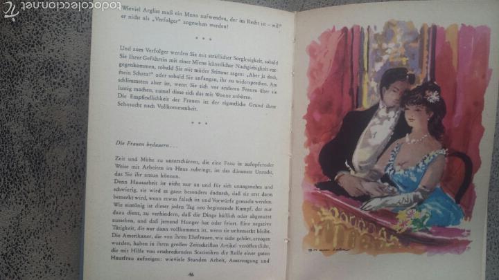 Libros de segunda mano: Libro en alemàn- WENN DIE MANNER WÜSSTEN… DE DOMINIQUE LE BOURG- ILUSTRADOR ESPAÑOL GRAU SALA 1951 - Foto 2 - 147633256