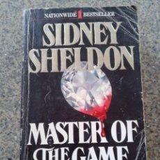 Libros de segunda mano: MASTER OF THE GAME -- SIDNEY SHELDON -- EDICION USA -- 1983 --. Lote 56647827