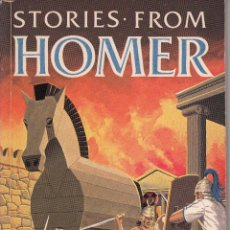 Libros de segunda mano: INGLÉS. STORIES FROM HOMER. MACMILLAN'S STORIES TO REMEMBER, 1983.. Lote 56826185