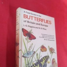 Libros de segunda mano: BUTTERFLIES IN BRITAIN AND EUROPE. INGLÉS.. Lote 57438954