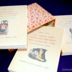 Libros de segunda mano: ALBERT SAMAIN. AU JARDIN DE L´INFANTE-LE CHARIOT D´OR SYMPHONIE..-CONTES POLYPHEME. PIAZZA. PARIS. Lote 57703316