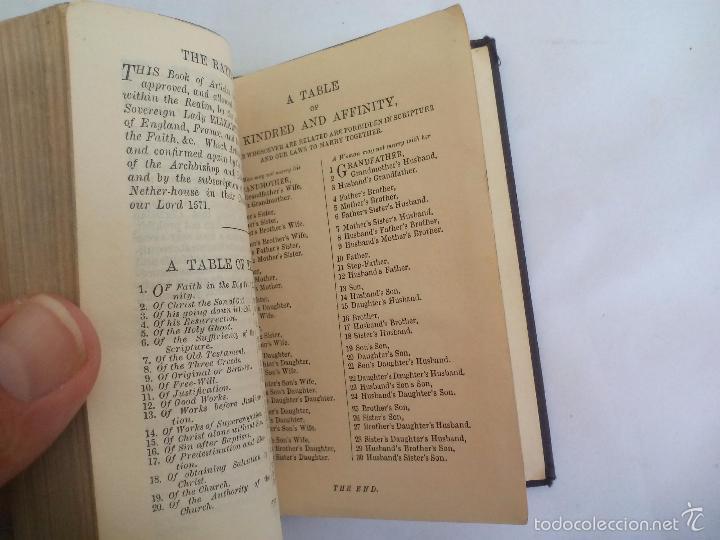 Libros de segunda mano: The book of Common Prayer. OxFord. Libro de oraciones en inglés, años 40 - Foto 4 - 57711963