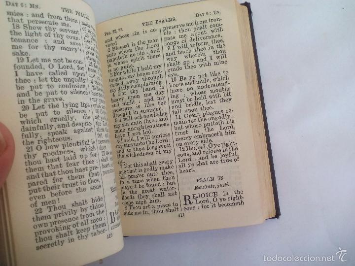 Libros de segunda mano: The book of Common Prayer. OxFord. Libro de oraciones en inglés, años 40 - Foto 5 - 57711963