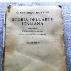 Libros de segunda mano: STORIA DELL'ARTE ITALIANO. Lote 57771059
