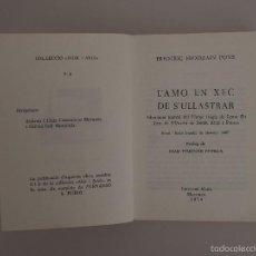 Libros de segunda mano: L'AMO EN XEC DE S'ULLASTRAR (FREDERIC ERDOZAIN.) EDICIONS NURA-MENORCA-1974. Lote 57792037