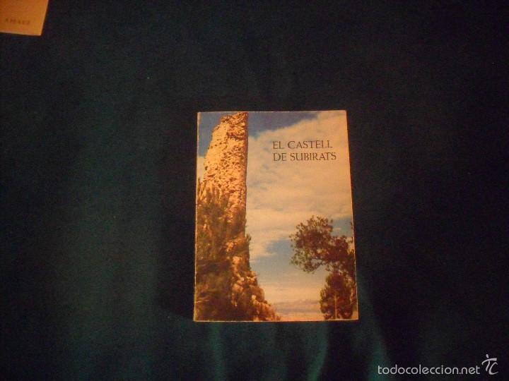EL CASTELL DE SUBIRATS, JOSEP RAVENTOS I ESCOFET 1976 (Libros de Segunda Mano - Otros Idiomas)