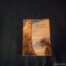 Livros em segunda mão: EL CASTELL DE SUBIRATS, JOSEP RAVENTOS I ESCOFET 1976. Lote 57809446