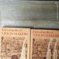 Libros de segunda mano: ENCYCLOPEDIA OF VIOLIN MARKERS - KAREL JALOVEC. Lote 58290844