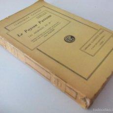 Libros de segunda mano: LE PAYSAN PARVENU OU LES MÉMOIRES DE M***. MARIVAUX. LIBRAIRIE GARNIER FRERES. PARIS. 1939. Lote 58478721