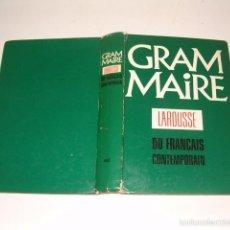 Libros de segunda mano: VV. AA. GRAMMAIRE LAROUSSE DU FRANÇAIS CONTEMPORAIN. RMT76013. . Lote 58679421