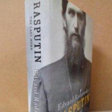 Libros de segunda mano: RASPUTIN. THE LAST WORD. EDVARD RADZINSKY. TAPA DURA. TEXTO EN INGLÉS. Lote 58823481
