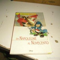 Libros de segunda mano: CAJ-52 LA STORIA DA TOPOLINO DA NAPOLEONE AL NOVECENTO DISNEY 5 EN ITALIANO. Lote 58868426