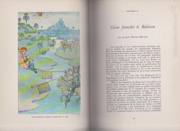 Libros de segunda mano: JULES CÉSAR - HACHETTE / PAIS 1961 - ILLUSTRÉE - Foto 3 - 58912370