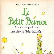 Libros de segunda mano: LE PETIT PRINCE - ANTOINE DE SAINT EXUPÉRY - 1971. Lote 60128343