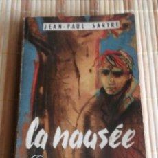 Libros de segunda mano: LA NAUSÉE - JEAN-PAUL SARTRE. Lote 60276827