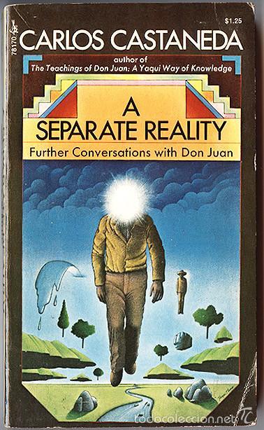 CARLOS CASTANEDA · A SEPARATE REALITY: FURTHER CONVERSATIONS WITH DON JUAN - UNA REALIDAD APARTE – (Libros de Segunda Mano - Otros Idiomas)