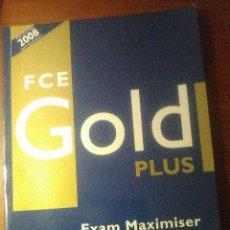 Libros de segunda mano: FCE GOLD PLUS EXAM MAXIMISER WITH KEY AND AUDIO CD - PEARSON / LONGMAN. Lote 64586627