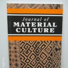 Libros de segunda mano: JOURNAL OF MATERIAL CULTURE - VOLUMEN 12 - Nº 2 . 2007 (EN INGLES) - VER FOTOS. Lote 64832083