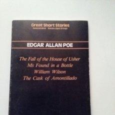 Libros de segunda mano: GREAT SHORT STORIES. EN INGLÉS.. Lote 65289027