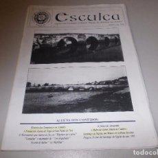 Libros de segunda mano: ESCULCA Nº 3 SETEMBRO 1.994, ORGANO SOCIEDADE CULTURAL MUSEO AS MARIÑAS DOS FRADES. Lote 67170133