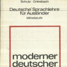 Libros de segunda mano: MODERNER DEUTSCHER SPRACH-GEGRAUCH. HUEBER. GERMANY. 1969. Lote 67235997